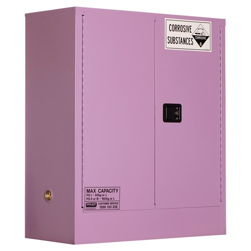 Corrosive Storage Cabinet 160L 2 Door, 2 Shelf