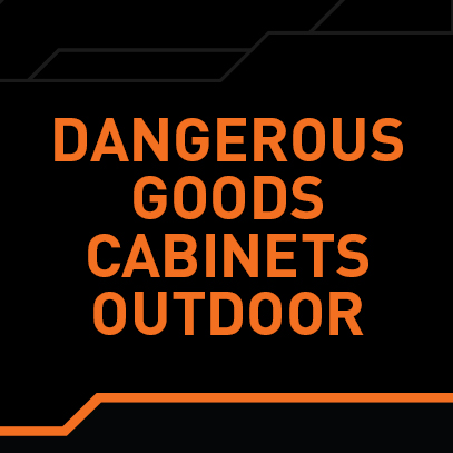 Dangerous Goods Outdoor  Cabinets